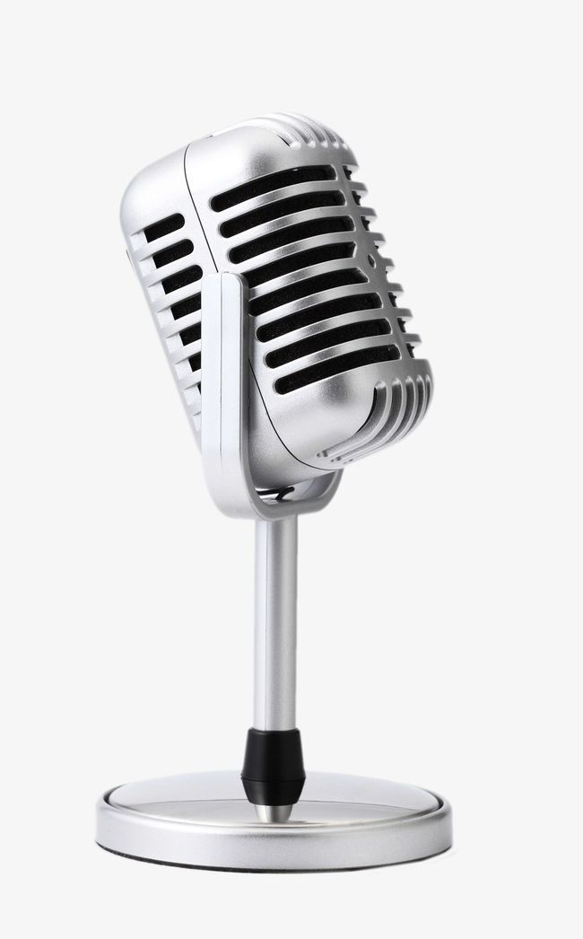 Microphone PNG, Clipart, Microphone, Microphone Clipart, Music, Silver, Sing Free PNG Download