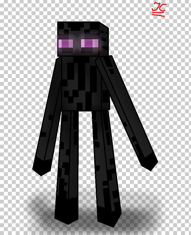 Minecraft Pocket Edition Mob Enderman Drawing Png Clipart