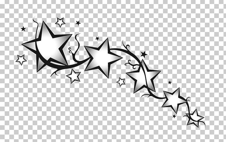 Drawing Star Tattoo Art PNG, Clipart, Angle, Area, Art, Artwork, Black Free PNG Download
