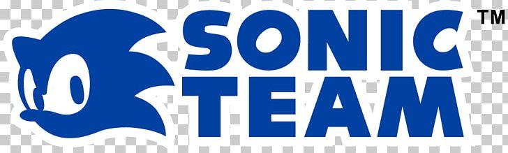 Sega Sonic Team Logo Mega Drive Sonic The Hedgehog Png Clipart Area Behavior Blue Brand Dreamcast