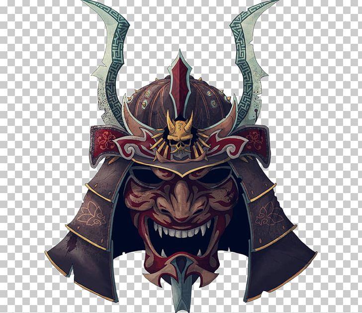 Japan Samurai Oni Mask Tattoo PNG, Clipart, Art, Bushido, Demon, Fictional Character, Hannya Free PNG Download