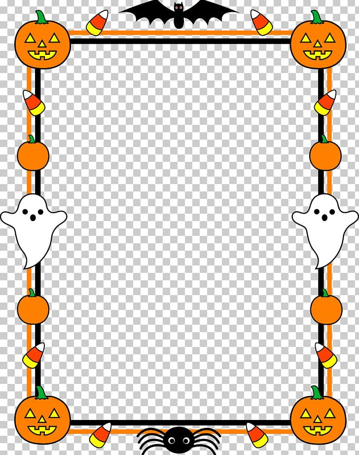 Halloween Jack-o-lantern PNG, Clipart, Area, Border, Clip Art, Games, Ghost Free PNG Download
