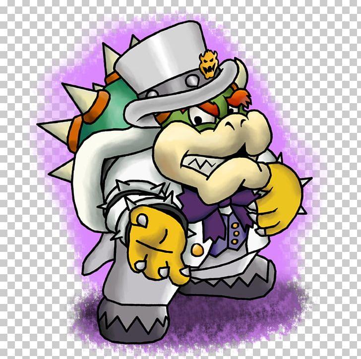 Bowser Super Mario Odyssey Mario Luigi Paper Jam Png