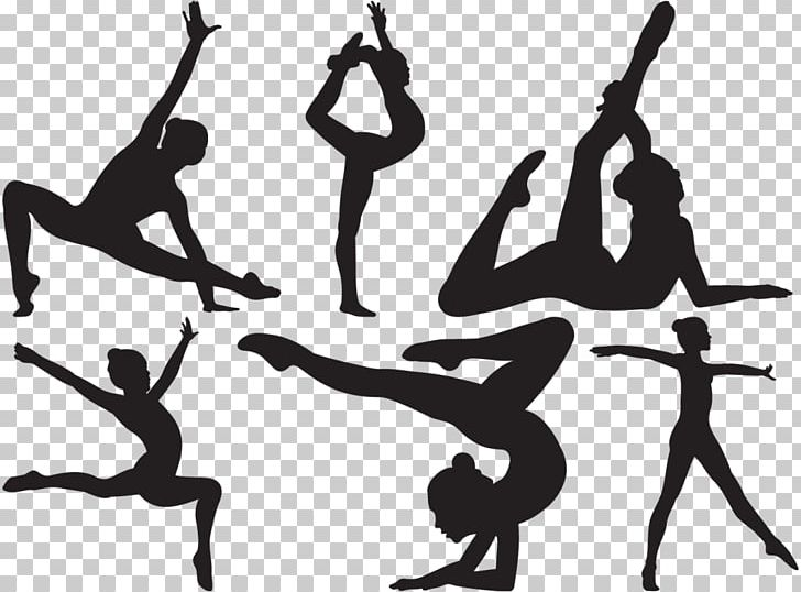 Physical Fitness Gymnastics Fitness Centre Exercise PNG, Clipart, Artistic Gymnastics, Ballet Dancer, Black And White, Dance, Dancer Free PNG Download
