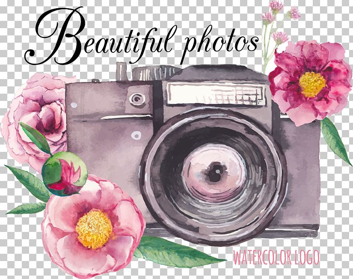 Camera Flower Drawing PNG, Clipart, Camera Frame, Camera Icon, Camera Lens, Camera Logo, Flower Arranging Free PNG Download