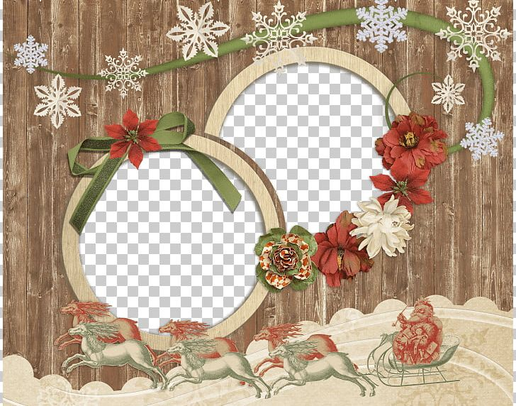 Antique Wooden Christmas Photo Frame PNG, Clipart, Christmas, Frame, Holidays Free PNG Download