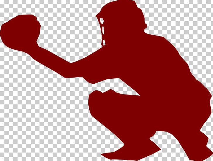 Softball catcher. Baseball fastpitch png clipart