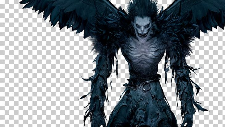 Ryuk Light Yagami Youtube Death Note Png Clipart 2016