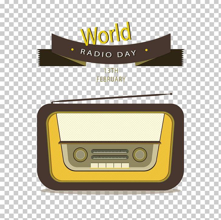 World Radio Day FM Broadcasting Radio Station PNG, Clipart