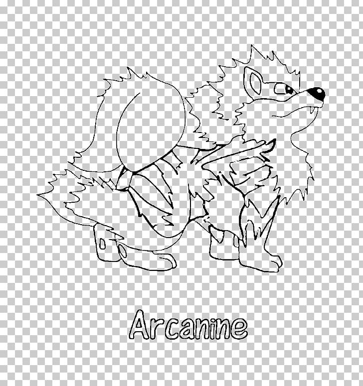 Pokemon X And Y Coloring Book Arcanine Colouring Pages Png Clipart Angle Art Artwork Black And