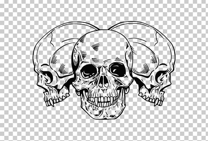 Tattoo Human Skull Symbolism Drawing Skeleton PNG, Clipart, Art, Automotive Design, Black And White, Body Art, Bone Free PNG Download