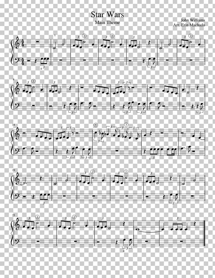 star wars main theme piano sheet music free download