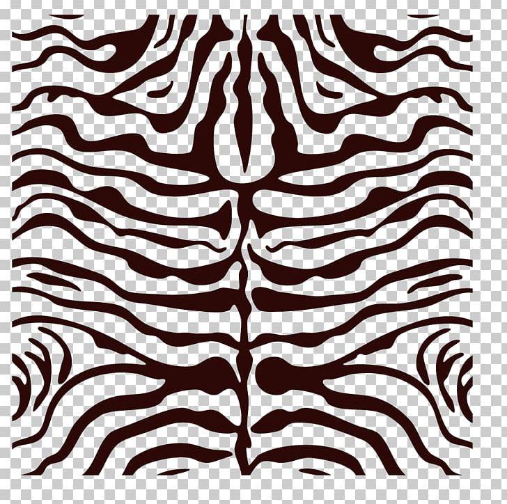 Zebra Shag Animal Print NULOOM RUGS