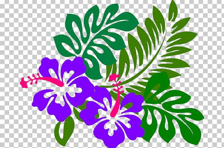 Hawaiian Hibiscus Flower Png Clipart Aloha Artwork Batik Branch