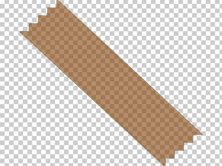 Tape brown. Adhesive paper scotch duct