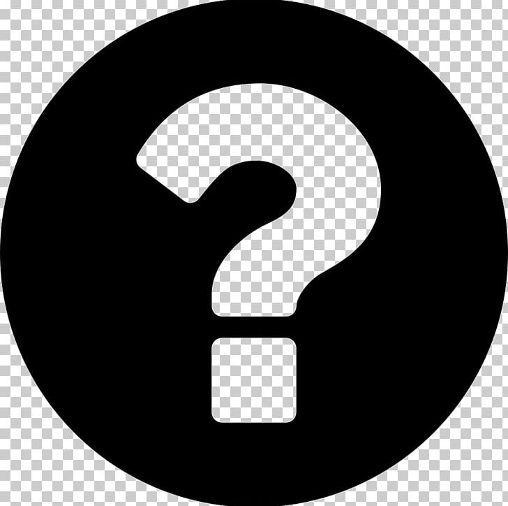 Question Mark Desktop Computer Icons Png Clipart Black And