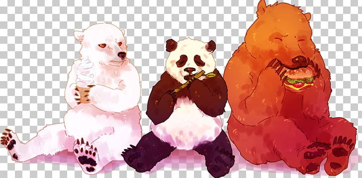 Polar Bear Fan Art Giant Panda Png Clipart Animals Art
