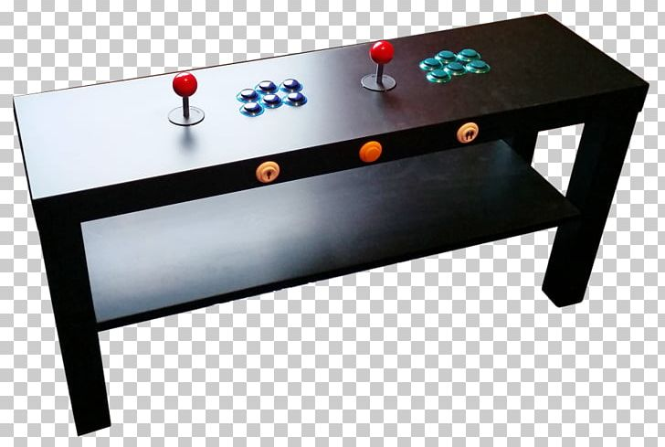 Arcade Coffee Table.Coffee Tables Arcade Game Ikea Arcade Controller Png Clipart