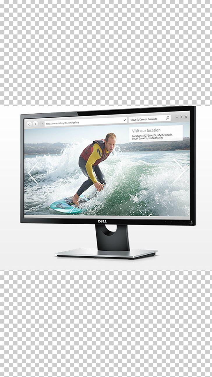 Dell SE-16H Computer Monitors LED-backlit LCD IPS Panel PNG