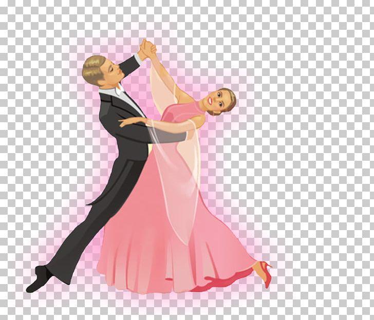 Ballroom Dance Art Png Clipart Art Ball Ballroom Dance Cartoon Clip Art Free Png Download