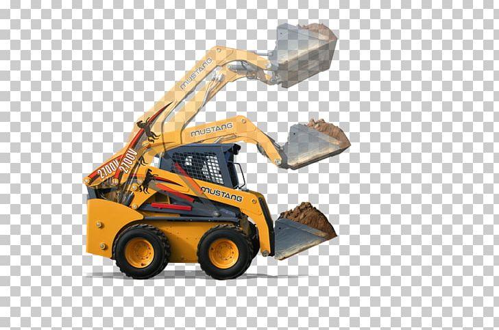 Machine Bulldozer Skid-steer Loader Engine PNG, Clipart