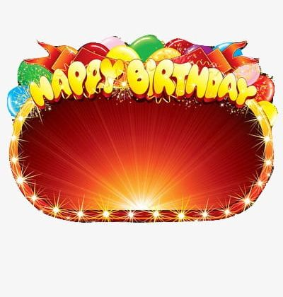 Happy Birthday Stage Effects PNG, Clipart, Birthday Clipart