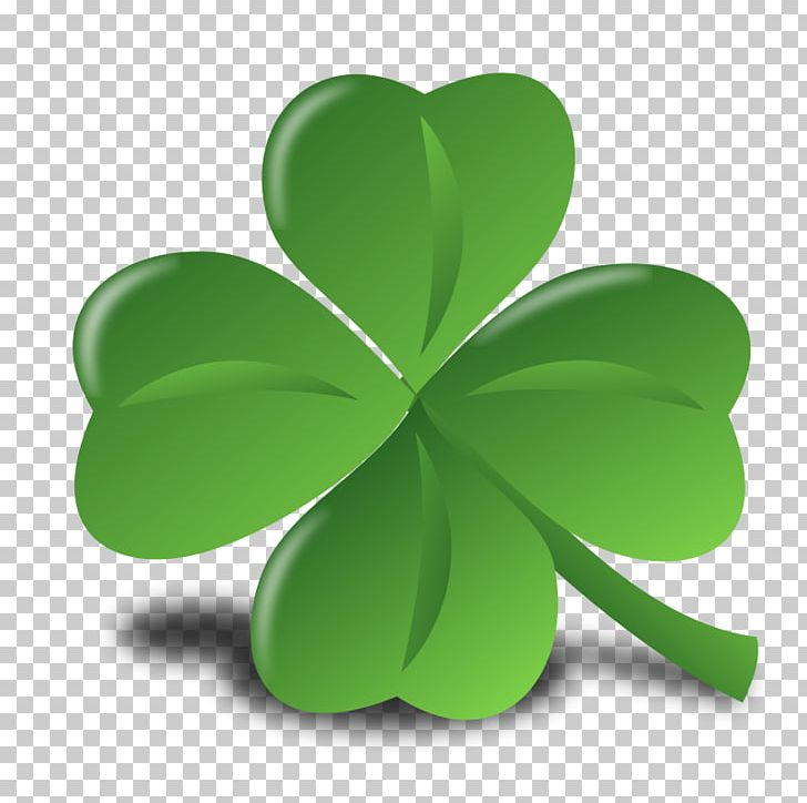Saint Patricks Day Ireland Four-leaf Clover Shamrock PNG, Clipart, Clover, Clover Vector, Flowers, Fourleaf Clover, Grass Free PNG Download