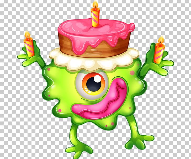 Birthday Cake PNG, Clipart, Amphibian, Birthday, Birthday Cake, Candle, Fictional Character Free PNG Download