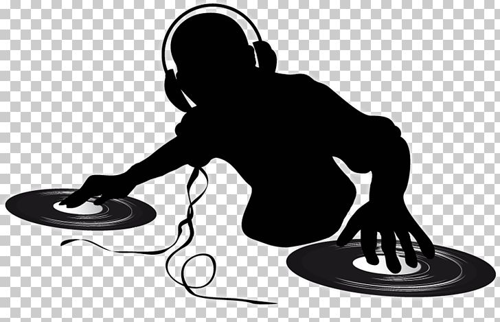 Disc Jockey Turntablism PNG, Clipart, Black, Black And White, Clipart, Clip Art, Communication Free PNG Download