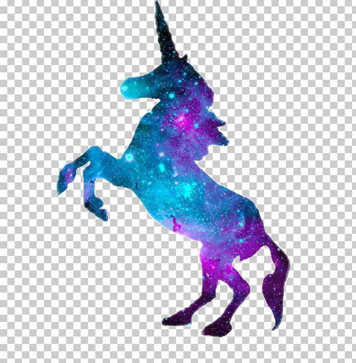 Unicorn galaxy. Samsung star legendary creature