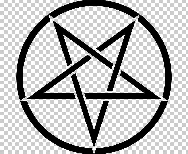 Pentagram Church Of Satan Pentacle Sigil Of Baphomet Satanism PNG, Clipart, Angle, Area, Baphomet, Black And White, Church Of Satan Free PNG Download