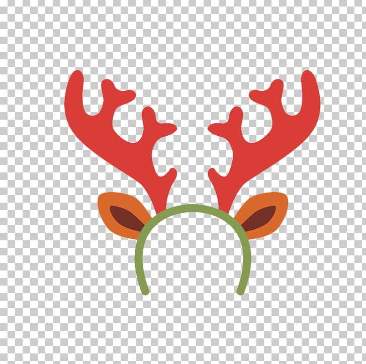 Reindeer horn clipart Set of brown reindeer antlers icon royalty free  cliparts vectors | Marcela.baebaebox.com