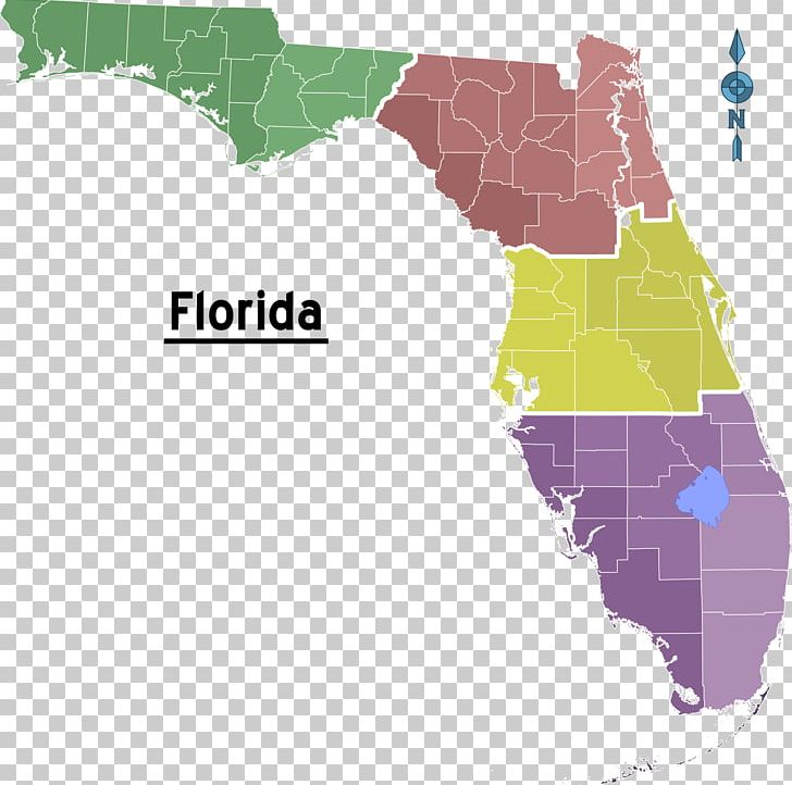 Florida Topographic Map Triangle Chemical Co PNG, Clipart ...