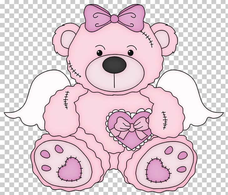 Bear pink. Teddy png clipart blog