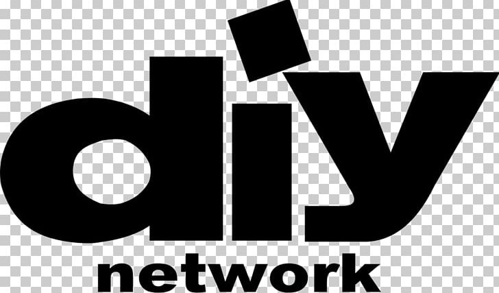 DIY Network Television Channel Food Network Logo PNG, Clipart, Black