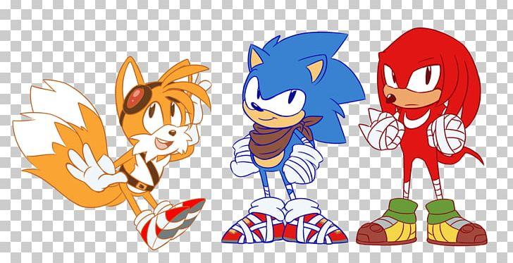 Sonic Mania Tails Knuckles The Echidna Sonic Chaos Png
