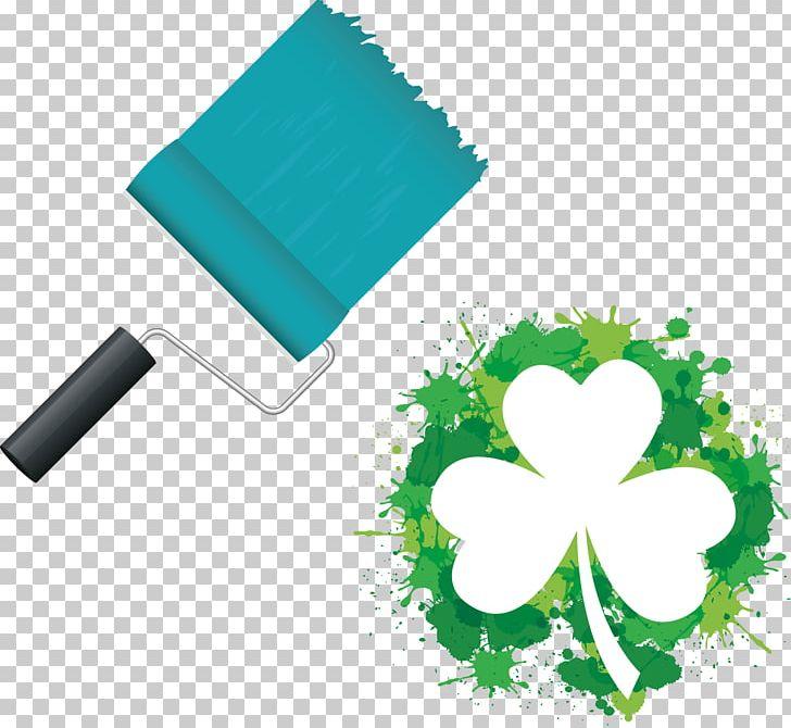 Shamrock Saint Patricks Day Free Content PNG, Clipart, Brush, Brush Stroke, Brush Vector, Flowers, Fourleaf Clover Free PNG Download