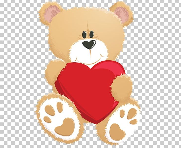 Teddy Bear Heart Drawing Png Clipart Animals Animation
