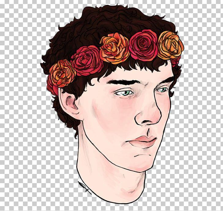 Flower Drawing Wreath Crown PNG, Clipart, 500 X, Art, Brown Hair, Cheek, Crown Free PNG Download