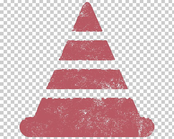 Christmas Tree Christmas Ornament Triangle Pink M Png Clipart