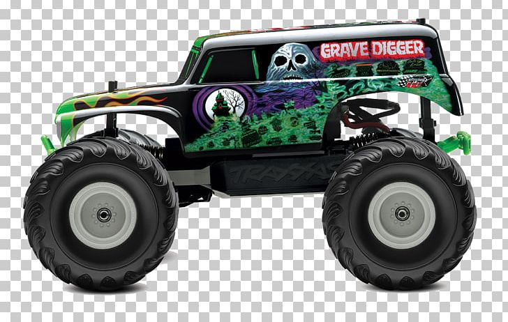 Radio Controlled Car Pickup Truck Grave Digger Monster Truck Png Clipart Automotive Design Automotive Tire Automotive
