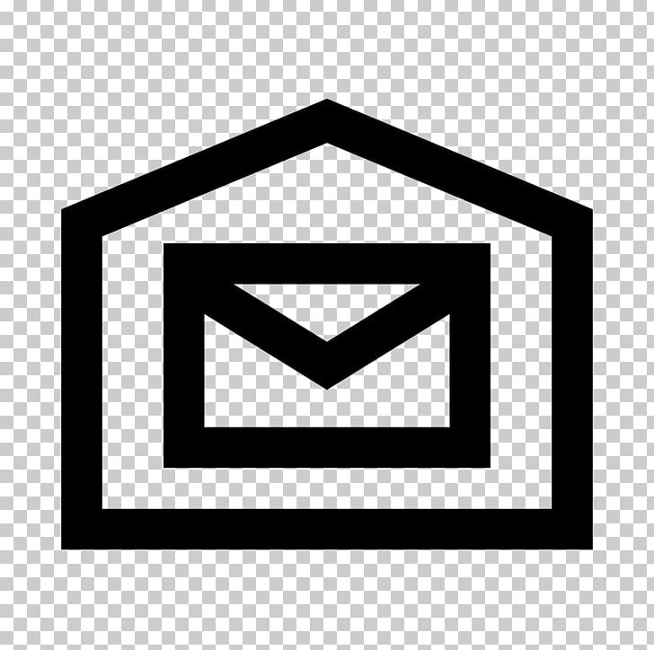 Computer Icons Mail Post Office Symbol PNG, Clipart, Angle, Area, Black, Black And White, Brand Free PNG Download