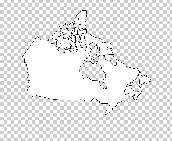 Flag Of Canada Map Black And White Png Clipart Abstract