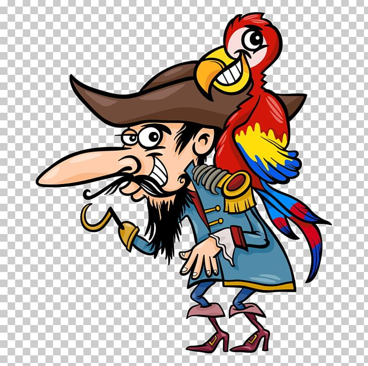 Captain Hook Parrot Piracy Illustration PNG, Clipart, Bird, Bird Cage, Business Man, Cartoon, Cartoon Characters Free PNG Download