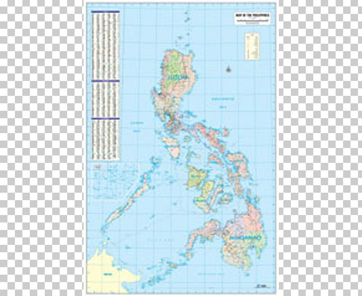 Map Philippines World Transverse Mercator Projection ...