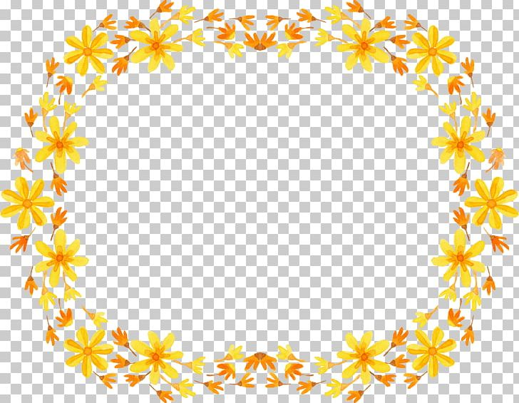 Border Flowers Frame Wreath Png Clipart Art Border