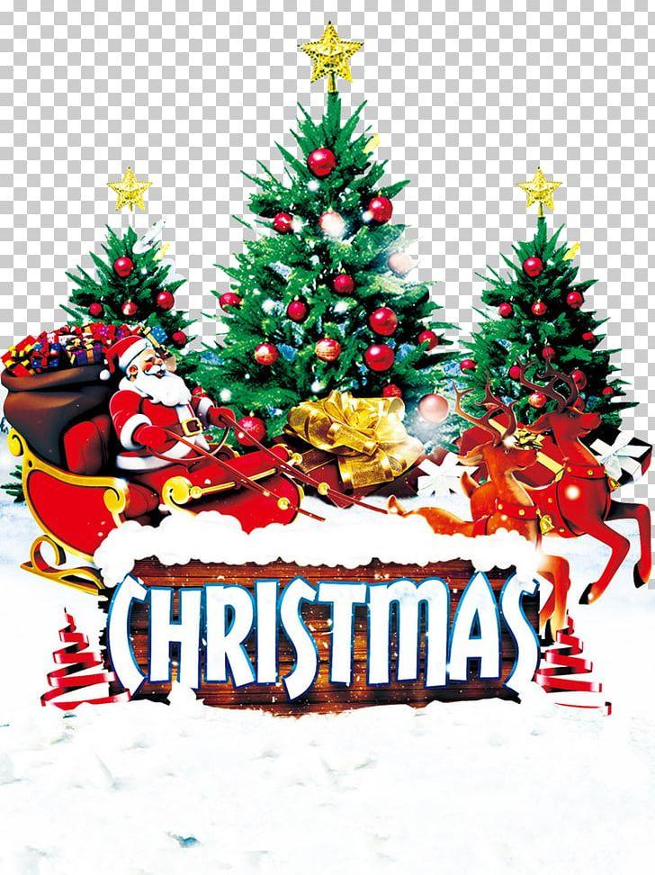 Christmas Tree Santa Claus Christmas Ornament PNG, Clipart, Background, Christmas, Christmas Decoration, Christmas Frame, Christmas Lights Free PNG Download