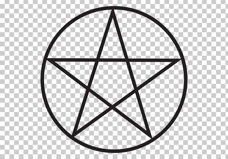 Pentagram Pentacle Wicca Star Of David Symbol PNG, Clipart, Angle, Area, Black And White, Circle, Fivepointed Star Free PNG Download