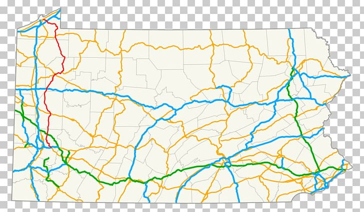 U.S. Route 19 In Pennsylvania U.S. Route 62 Road Map PNG ...