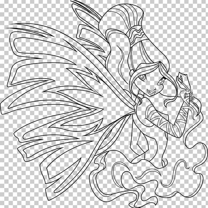 Aisha Stella Sirenix Coloring Book Drawing Png Clipart Aisha